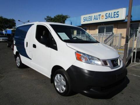 2017 Nissan NV200 for sale at Salem Auto Sales in Sacramento CA