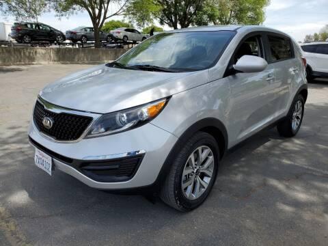 2016 Kia Sportage for sale at Matador Motors in Sacramento CA