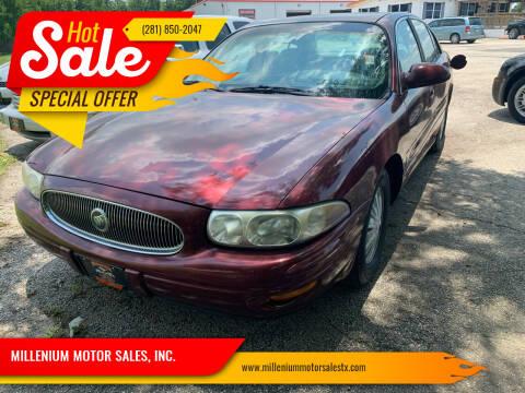 2002 Buick LeSabre for sale at MILLENIUM MOTOR SALES, INC. in Rosenberg TX