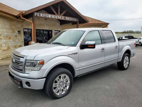 2013 Ford F-150 for sale at Performance Motors Killeen Second Chance in Killeen TX