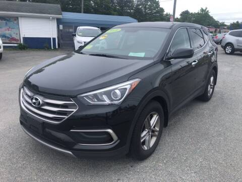 2018 Hyundai Santa Fe Sport for sale at U FIRST AUTO SALES LLC in East Wareham MA