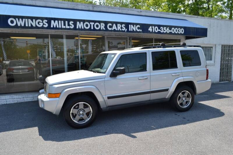 2007 Jeep Commander for sale at Owings Mills Motor Cars in Owings Mills MD