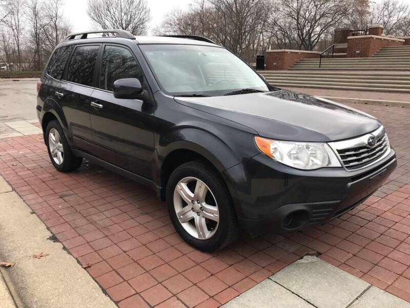 2010 Subaru Forester for sale at Third Avenue Motors Inc. in Carmel IN