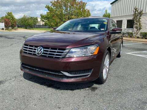 2014 Volkswagen Passat for sale at CarXpress in Fredericksburg VA