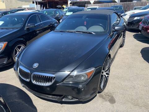 2004 BMW 6 Series for sale at GRAND AUTO SALES - CALL or TEXT us at 619-503-3657 in Spring Valley CA