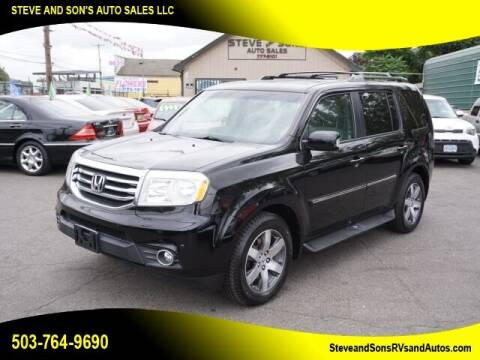 2012 Honda Pilot for sale at Steve & Sons Auto Sales in Happy Valley OR
