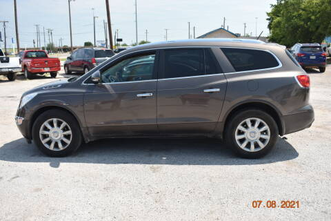 2012 Buick Enclave for sale at WF AUTOMALL in Wichita Falls TX