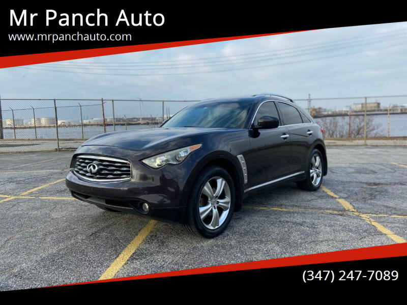 2009 Infiniti FX35 for sale at Mr Panch Auto in Staten Island NY