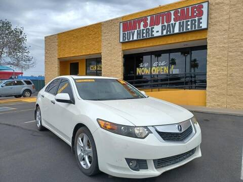 2010 Acura TSX for sale at Marys Auto Sales in Phoenix AZ