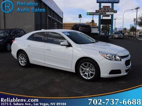 2015 Chevrolet Malibu for sale at Reliable Auto Sales in Las Vegas NV
