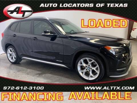 2015 BMW X1 for sale at AUTO LOCATORS OF TEXAS in Plano TX