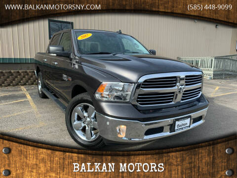 2017 RAM Ram Pickup 1500 for sale at BALKAN MOTORS in East Rochester NY