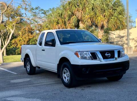 2018 Nissan Frontier for sale at Sunshine Auto Sales in Oakland Park FL