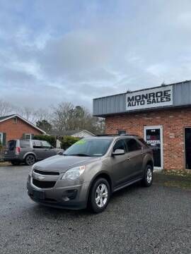 2011 Chevrolet Equinox for sale at Monroe Auto Sales Inc in Wilmington NC