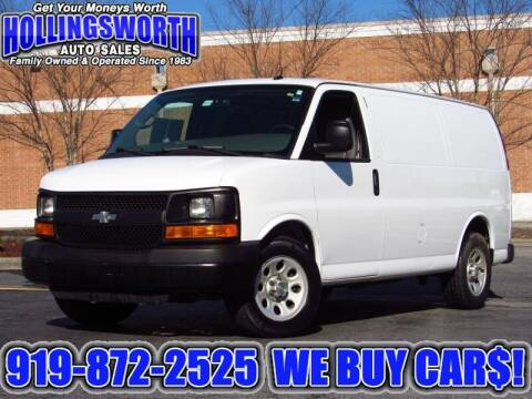2014 Chevrolet Express Cargo for sale at Hollingsworth Auto Sales in Raleigh NC
