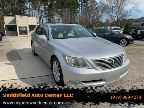 2007 Lexus LS 460 for sale at Smithfield Auto Center LLC in Smithfield NC