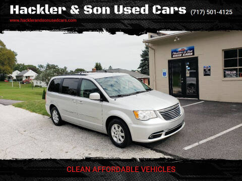 2012 Chrysler Town and Country for sale at Hackler & Son Used Cars in Red Lion PA