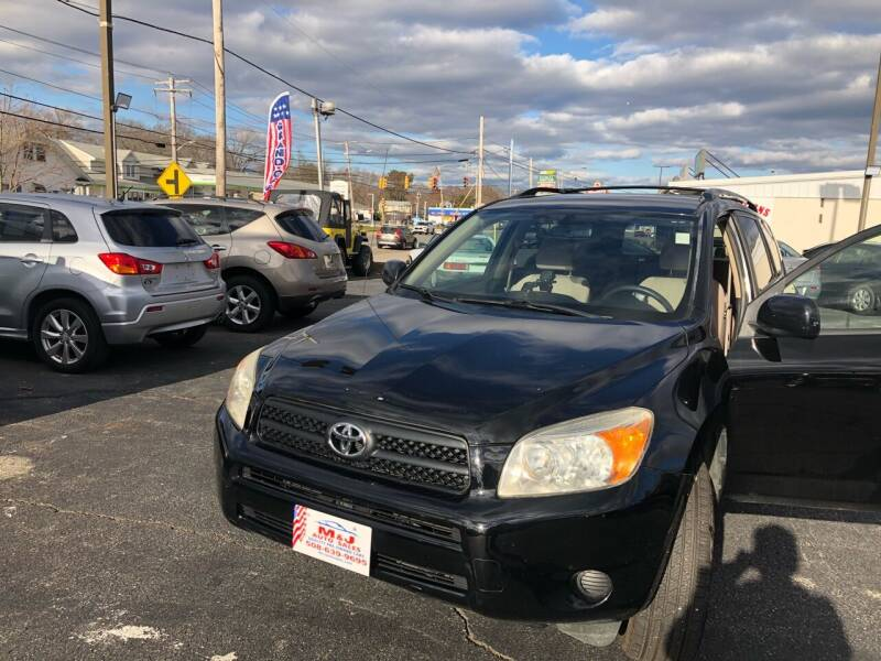 2008 Toyota RAV4 for sale at M & J Auto Sales in Attleboro MA