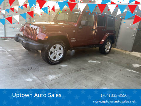 2007 Jeep Wrangler Unlimited for sale at Uptown Auto Sales in Charlotte NC