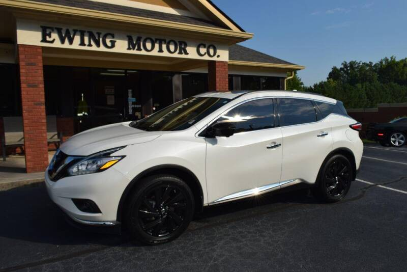 2017 Nissan Murano for sale at Ewing Motor Company in Buford GA