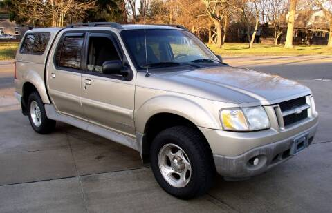2002 Ford Explorer Sport Trac for sale at Angelo's Auto Sales in Lowellville OH