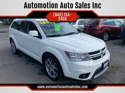 2012 Dodge Journey for sale at Automotion Auto Sales Inc in Kingston NY