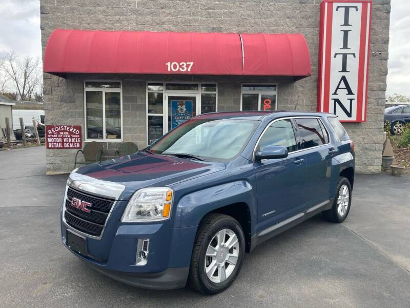 2012 GMC Terrain for sale at Titan Auto Sales LLC in Albany NY