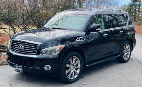 2011 Infiniti QX56 for sale at Manchester Motorsports in Goffstown NH