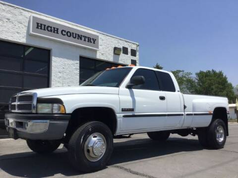 1999 Dodge Ram Pickup 3500 for sale at High Country Motor Co in Lindon UT