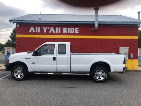 2006 Ford F-250 Super Duty for sale at Big Daddy's Auto in Winston-Salem NC