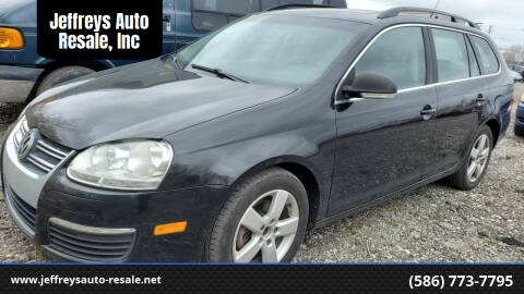 2009 Volkswagen Jetta for sale at Jeffreys Auto Resale, Inc in Clinton Township MI