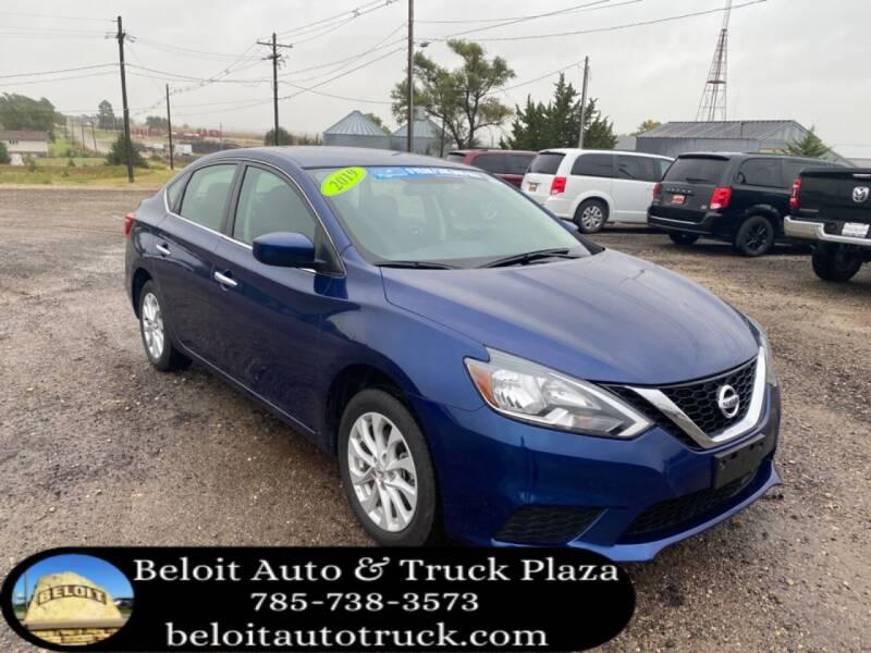 2019 Nissan Sentra for sale at BELOIT AUTO & TRUCK PLAZA INC in Beloit KS
