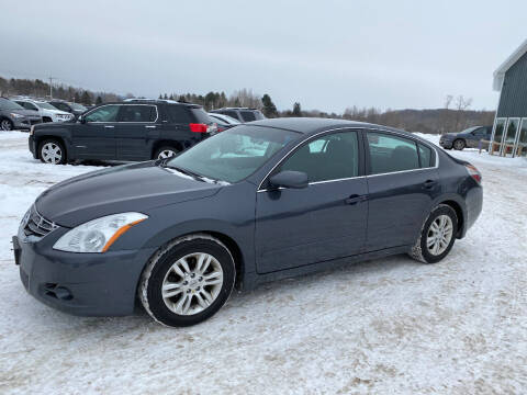 2010 Nissan Altima for sale at Riverside Motors in Glenfield NY