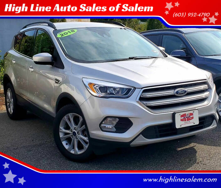 2018 Ford Escape for sale at High Line Auto Sales of Salem in Salem NH