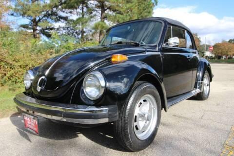1979 Volkswagen Beetle for sale at Oak City Motors in Garner NC