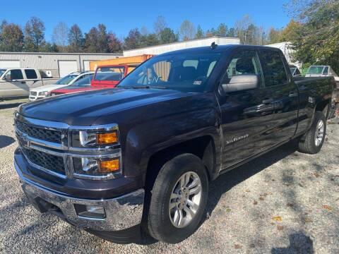 2014 Chevrolet Silverado 1500 for sale at Premier Auto Solutions & Sales in Quinton VA