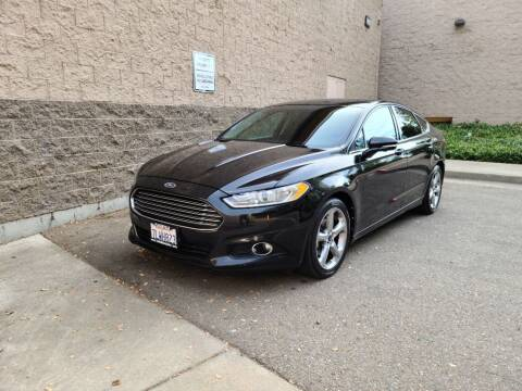 2013 Ford Fusion for sale at SafeMaxx Auto Sales in Placerville CA
