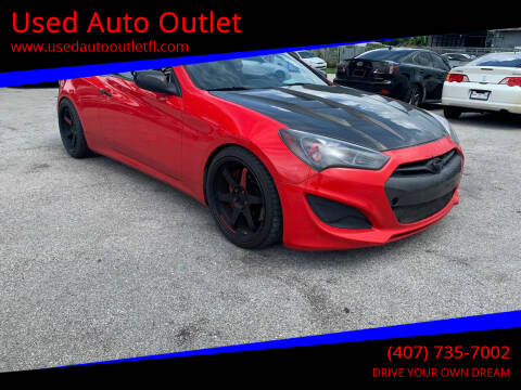 2013 Hyundai Genesis Coupe for sale at Used Auto Outlet in Orlando FL