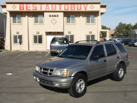2004 Isuzu Rodeo for sale at Best Auto Buy in Las Vegas NV