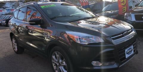 2015 Ford Escape for sale at Duke City Auto LLC in Gallup NM