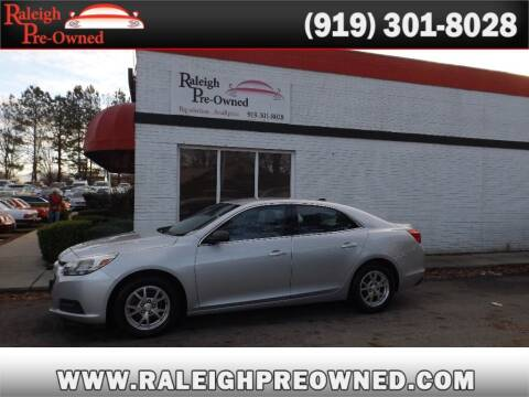 2014 Chevrolet Malibu for sale at Raleigh Pre-Owned in Raleigh NC