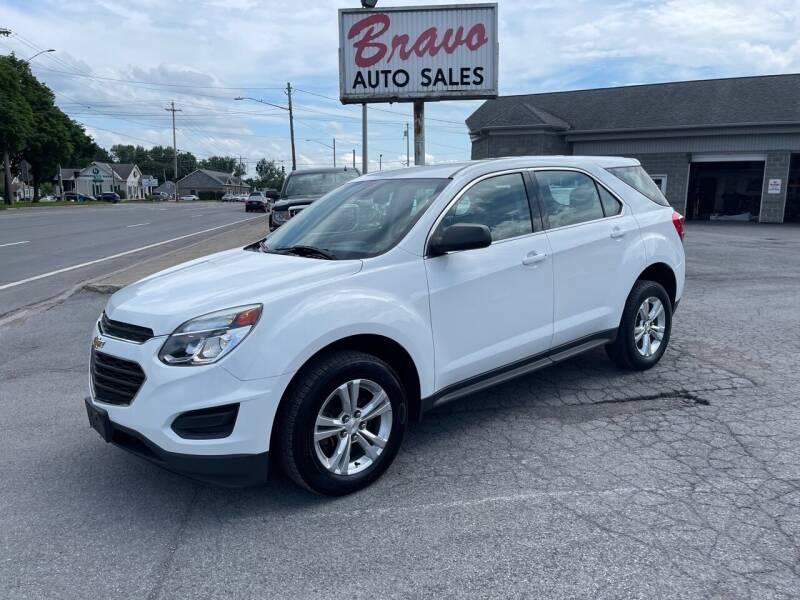 2016 Chevrolet Equinox for sale at Bravo Auto Sales in Whitesboro NY