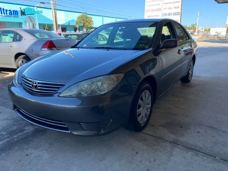 2005 Toyota Camry for sale at Eastside Auto Brokers LLC in Fort Myers FL