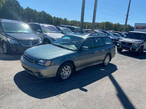 2001 Subaru Outback for sale at Billy Ballew Motorsports in Dawsonville GA