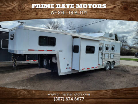 2017 Logan Living Quarters 810 Limited for sale at PRIME RATE MOTORS in Sheridan WY