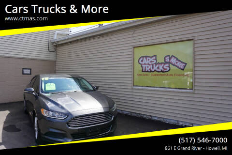 2015 Ford Fusion Hybrid for sale at Cars Trucks & More in Howell MI
