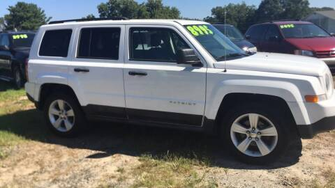2011 Jeep Patriot for sale at S & H AUTO LLC in Granite Falls NC