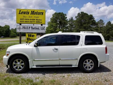 2006 Infiniti QX56 for sale at Lewis Motors LLC in Deridder LA