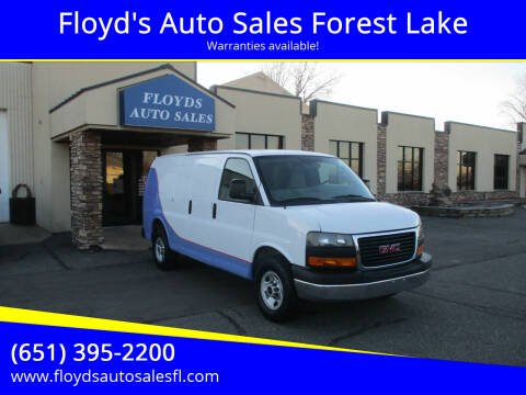 2016 GMC Savana Cargo for sale at Floyd's Auto Sales Forest Lake in Forest Lake MN