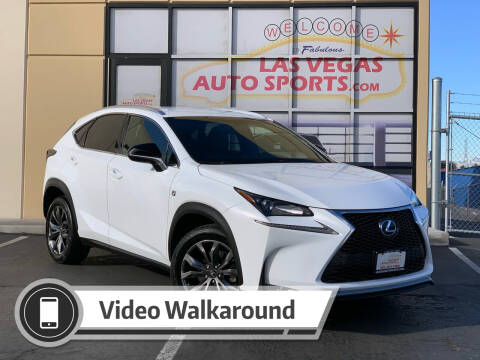 2017 Lexus NX 200t for sale at Las Vegas Auto Sports in Las Vegas NV